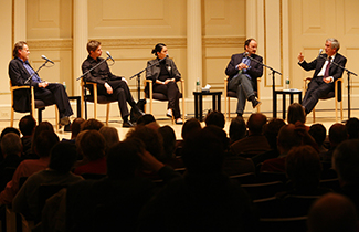 Berlin Stories: Literary Journeys through the City Panel Discussion (c) 2007, Chris Lee