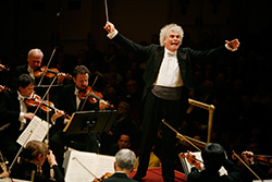 Sir Simon Rattle and The Berliner Philharmoniker (c) 2007, Jennifer Taylor